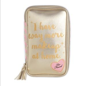 Limited Edition Too Faced Makeup Bag